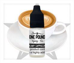 Creamy-Cappuccino_One-Pound-Vape-E-liquid_Product-Image