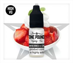HVG_Strawberries-&-Cream_One-Pound-Vape-E-liquid_Product-Image