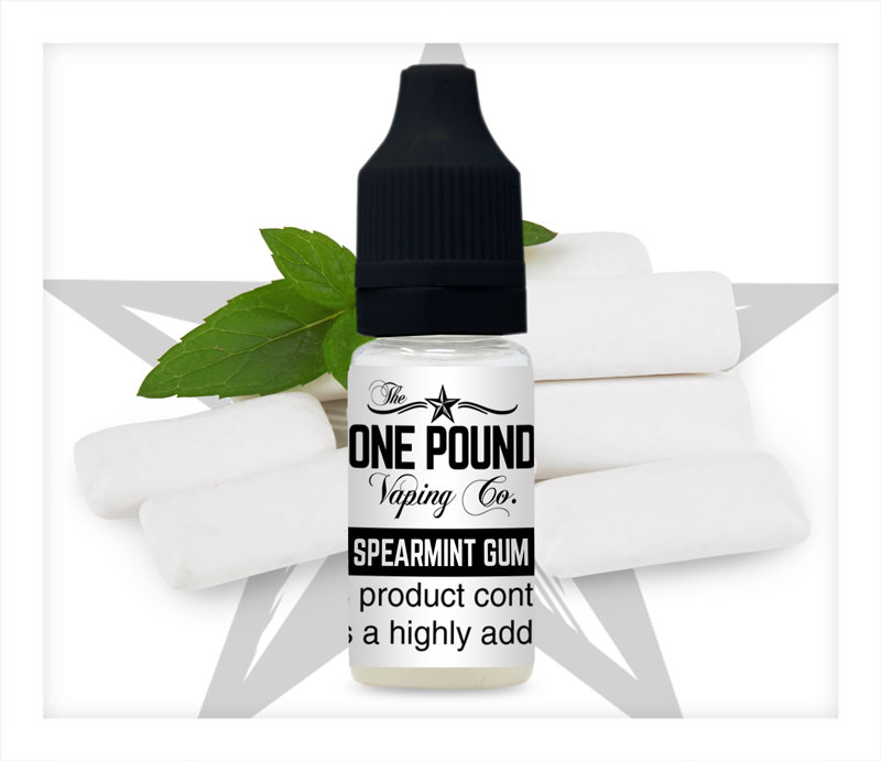 Spearmint-Gum_One-Pound-Vape-E-liquid_Product-Image