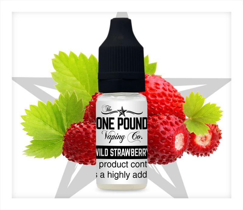 Wild-Strawberry_One-Pound-Vape-E-liquid_Product-Image
