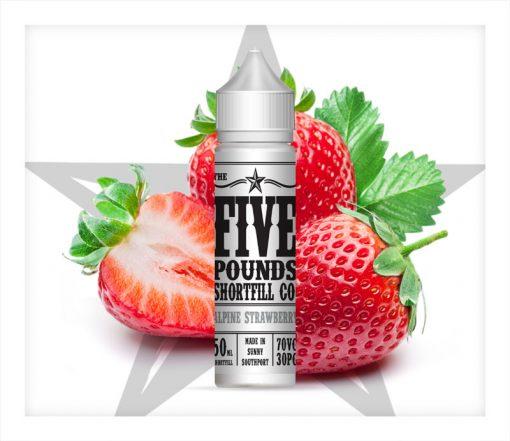alpine strawberry five pound shortfill
